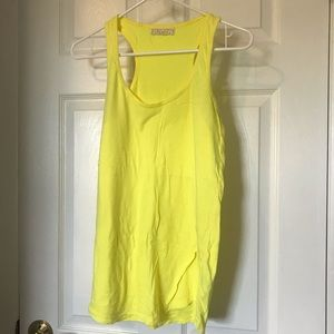 Forever 21 yellow tank top